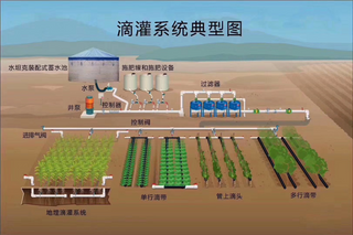 Greenhouse Fertigation And Irrigation System