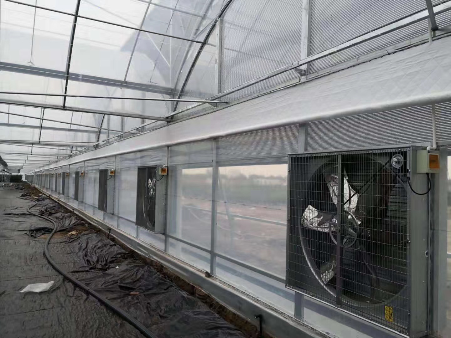 Multiple Greenhouse accessory with galvanized coated