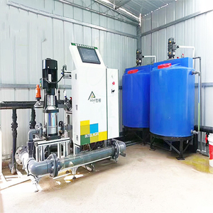 Professional Intelligent Control Greenhouse Fertigation System For Sale