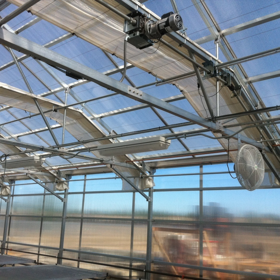 Hot Sale Greenhouse inside Shading System for Built Greenhouse Plants